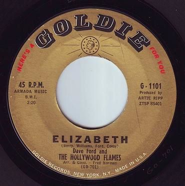 HOLLYWOOD FLAMES - ELIZABETH - GOLDIE