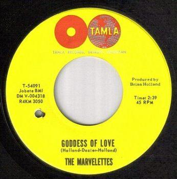 MARVELETTES - GODDESS OF LOVE - TAMLA