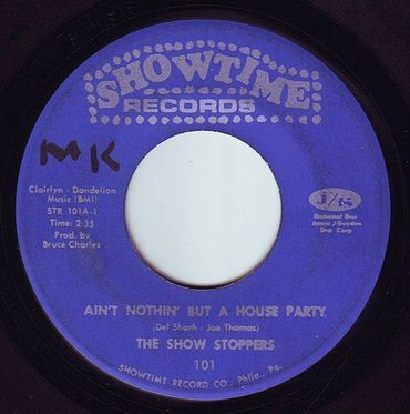 SHOWSTOPPERS - AIN'T NOTHIN' BUT A HOUSE PARTY - SHOWTIME