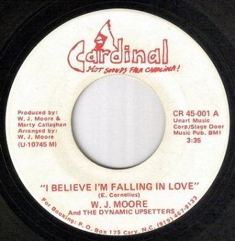 W.J. MOORE - I BELIEVE I'M FALLING IN LOVE - CARDINAL