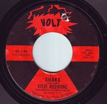 OTIS REDDING - SHAKE - VOLT
