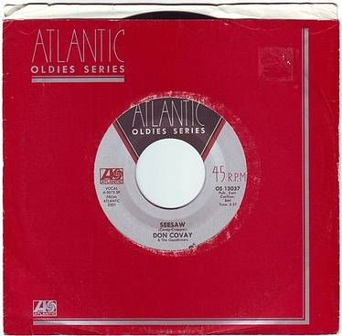 DON COVAY - SEESAW - ATLANTIC OLDIES