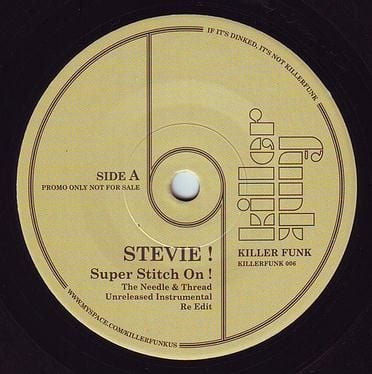 STEVIE! - SUPER STITCH ON - KILLER FUNK