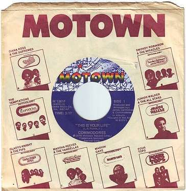 COMMODORES - THIS IS YOUR LIFE - MOTOWN