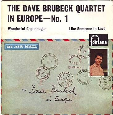 DAVE BRUBECK QUARTET - IN EUROPE No. 1 - FONTANA
