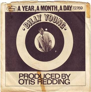 BILLY YOUNG - A YEAR, A MONTH, A DAY - MERCURY