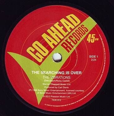 VIBRATIONS - THE SEARCHING IS OVER - GO AHEAD