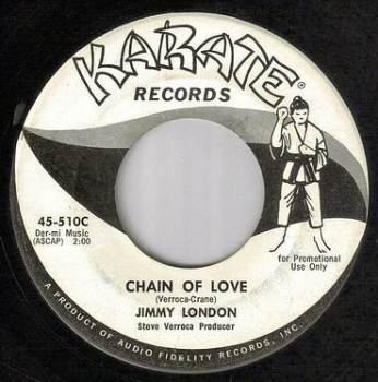 JIMMY LONDON - CHAIN OF LOVE - KARATE dj