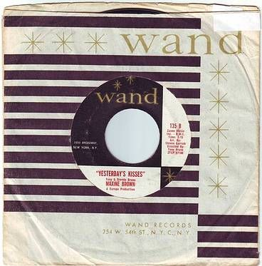 MAXINE BROWN - YESTERDAY'S KISSES - WAND