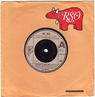 BEE GEES - HOW DEEP IS YOUR LOVE - RSO