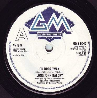 LONG JOHN BALDRY - ON BROADWAY - GM