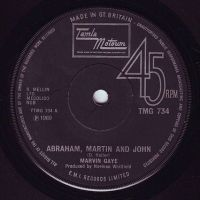 MARVIN GAYE - ABRAHAM, MARTIN AND JOHN - TMG 734