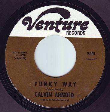 CALVIN ARNOLD - FUNKY WAY - VENTURE