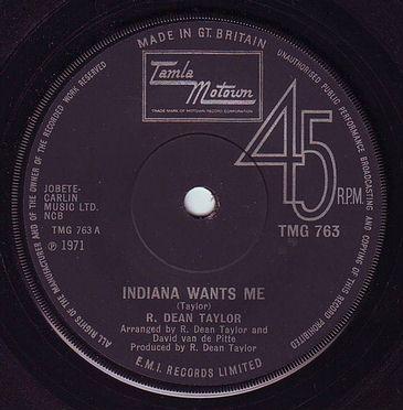 R. DEAN TAYLOR - INDIANA WANTS ME - TMG 763