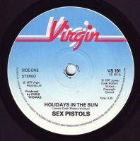 SEX PISTOLS - HOLIDAYS IN THE SUN - VIRGIN