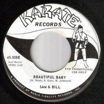 SAM & BILL - BEAUTIFUL BABY - KARATE dj