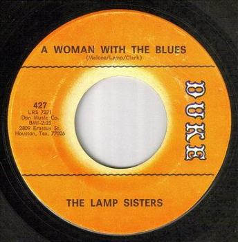 LAMP SISTERS - A WOMAN WITH THE BLUES - DUKE