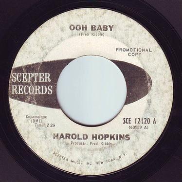 HAROLD HOPKINS - OOH BABY - SCEPTER DEMO