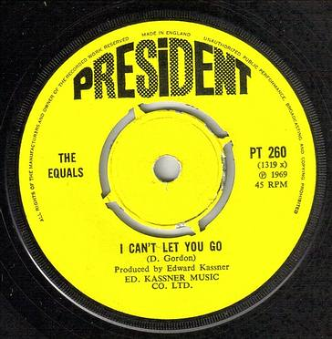 EQUALS - I CAN'T LET YOU GO - PRESIDENT