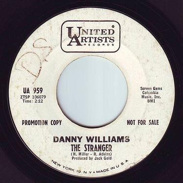 DANNY WILLIAMS - THE STRANGER - UA DEMO