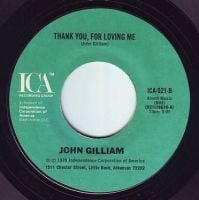 JOHN GILLIAM - THANK YOU, FOR LOVING ME - ICA