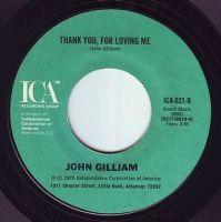 JOHN GILLIAM - THANK YOU, FOR LOVING ME - ICA