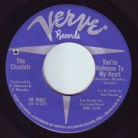 CHANTELS - YOU'RE WELCOME TO MY HEART - VERVE