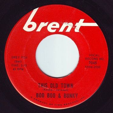 BOO BOO & BUNKY - THIS OLD TOWN - BRENT