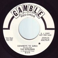 INTRUDERS - COWBOYS TO GIRLS - GAMBLE DEMO