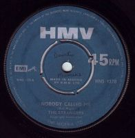 STRANGERS - NOBODY CALLED ME - HMV