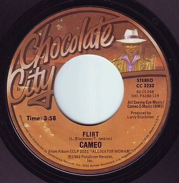 CAMEO - FLIRT - CHOCOLATE CITY
