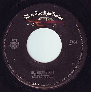 FATS DOMINO - BLUEBERRY HILL - UA SILVER SPOTLIGHT
