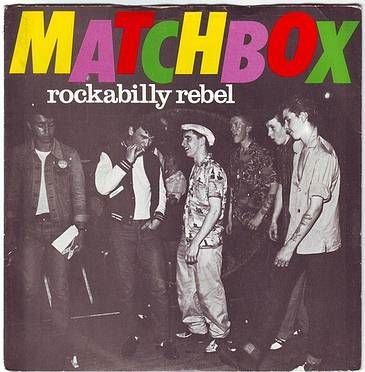 MATCHBOX - ROCKABILLY REBEL - MAGNET