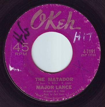 MAJOR LANCE - THE MATADOR - OKEH