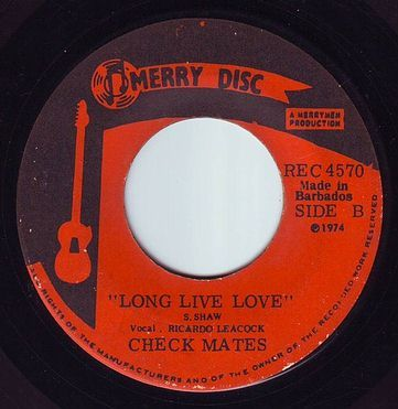 CHECK MATES - LONG LIVE LOVE - MERRY DISC