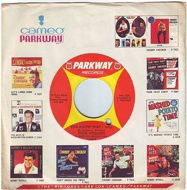 EDDIE HOLMAN - YOU KNOW THAT I WILL - PARKWAY