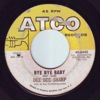 DEE DEE SHARP - BYE BYE BABY - ATCO