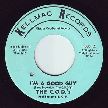 C.O.D.'s - I'M A GOOD GUY - KELLMAC