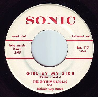 RHYTHM RASCALS - GIRL BY MY SIDE - SONIC