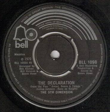 FIFTH DIMENSION - THE DECLARATION - BELL