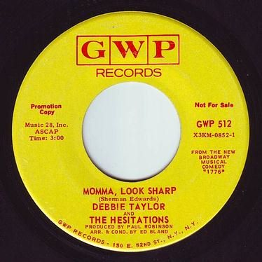 DEBBIE TAYLOR & THE HESITATIONS - MOMMA, LOOK SHARP - GWP DEMO