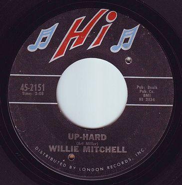 WILLIE MITCHELL - UP-HARD - HI