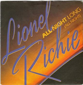 LIONEL RICHIE - ALL NIGHT LONG - TMG 1319