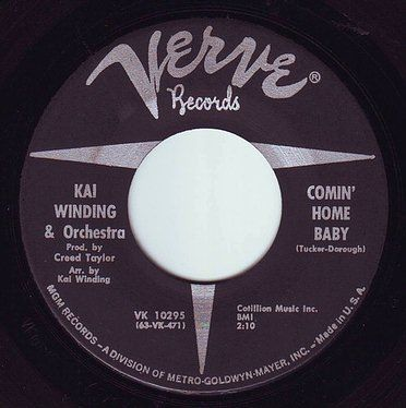 KAI WINDING & Orchestra - COMIN' HOME BABY - VERVE