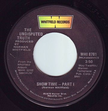 UNDISPUTED TRUTH - SHOW TIME - WHITFIELD