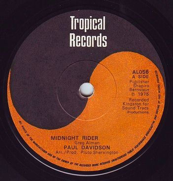 PAUL DAVIDSON - MIDNIGHT RIDER - TROPICAL
