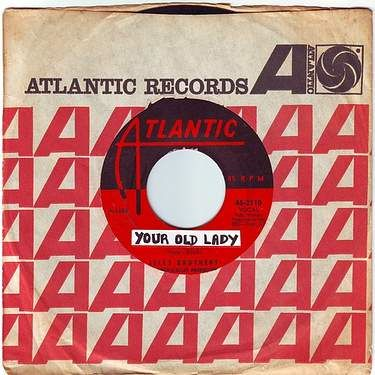 ISLEY BROTHERS - YOUR OLD LADY - ATLANTIC