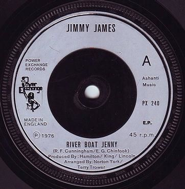 JIMMY JAMES - RIVER BOAT JENNY - POWER EXCHANGE