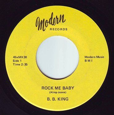 B.B. KING - ROCK ME BABY - MODERN OLDIES