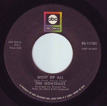 MONTEGOS - MOST OF ALL - ABC